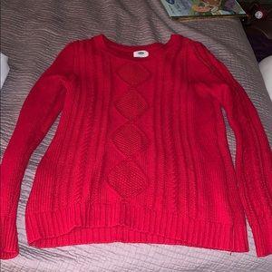 EUC Red Sweater Sz L